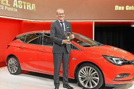 El nuevo Opel Astra gana el 'Volante de Oro 2015'