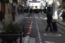 La calle Velázquez es desde este martes peatonal durante el día