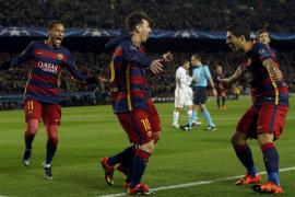 Goleada cómoda del Barça, que entrará en octavos como primero de grupo
