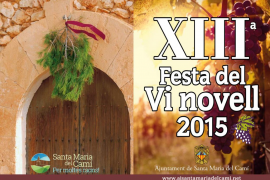 Santa Maria celebra la XIII Festa del Vi Novell
