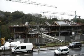 Un muerto y 4 heridos en un derrumbe en Navarra