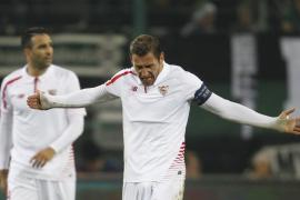 El Sevilla cae ante el Gladbach y dice adiós a la Liga de Campeones