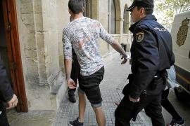 Prisión para la pareja de letones que hirió con un cúter a un hombre en Palma