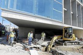 Palau de Congressos no negociará con Acciona otra fecha de entrega de la obra