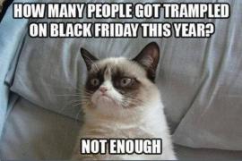 Sobre timos en el Black Friday