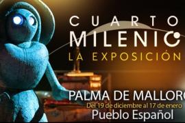 Aterriza en Palma una exposición sobre 'Cuarto Milenio'