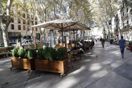 Restauración Mallorca inicia una campaña a favor de las terrazas en es Born