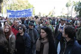 La Marcha por el clima reclama en Palma el uso de energías limpias