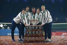 Andy Murray le da el décimo título a Gran Bretaña en Copa Davis