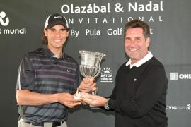 El equipo de Nadal se impone al de Olazábal en el torneo de golf benéfico