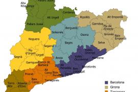Catalunya aprueba la ley de veguerías, que debe poner fin a las cuatro provincias