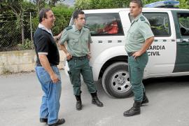 PALMA.SUCESOS. TORRENTE DE SELVA EN DONDE LA GUARDIA CIVIL HA DETENID