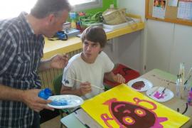 Exposición 'Nosaltres també pintam' en Pollença