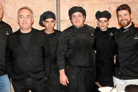 Encuentro en es Baluard con Ferran Adrià