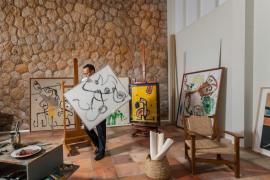 La galería Mayoral recreará el taller palmesano de Joan Miró