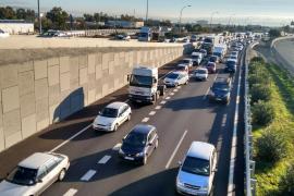 Retenciones en la autopista del aeropuerto