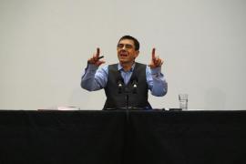 Monedero acude a la presentación de los candidatos de Podem a las generales