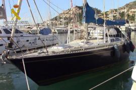 Recuperado un velero robado en Calvià y detenido su tripulante