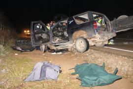 Los dos fallecidos en la carretera de Campos eran vecinos de la localidad
