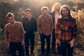 Los canadienses The Wooden Sky estrenan disco en la sala La Red