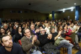 Monedero dice en Palmanova que  «los socialistas de corazón están con Podemos»