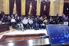 El Parlament balear abre sus puertas a las personas con discapacidad