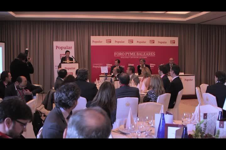 El Foro PYME Balears reúne a numerosos representantes del mundo empresarial