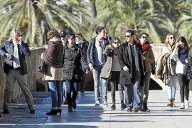Los turistas llenarán el centro de Palma durante el próximo puente