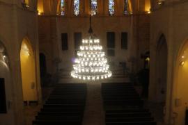 Llentoner de l'església de Sineu, instal·lar de nou