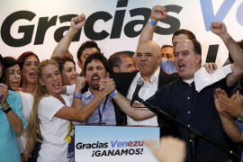 La alianza opositora MUD gana las elecciones legislativas venezolanas