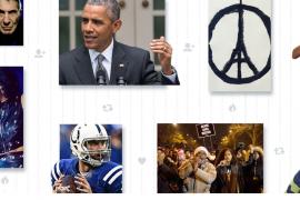 2015, el año de la solidaridad y los 'emoji' en Twitter