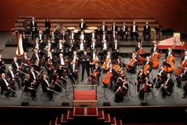 La Acadèmia Simfònica IB, junto a la Simfònica en el Auditòrium de Palma