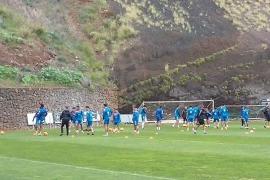 Cámara, jugador del Tenerife, avisa: «El Mallorca llegará con la confianza por las nubes»