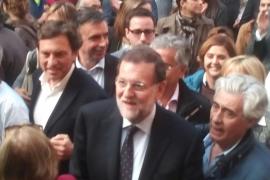 Rajoy entra en campaña en Palma