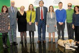 Presentación de Josep Vilaseca como nuevo delegado de la ONCE en Balears