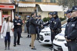 Cort aumentará la presencia policial en los lugares más concurridos con motivo de las fiestas