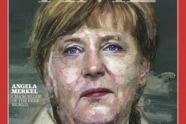 La revista Time elige a Merkel persona del año