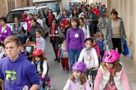 La comunidad educativa de Campos se moviliza para exigir un nuevo colegio público