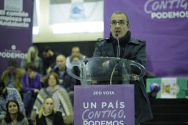 Yllanes explica que se ha unido a Podemos «para hacerlo más democrático»