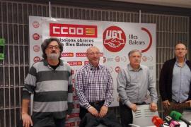 Los sindicatos exigen la derogación de  la reforma laboral