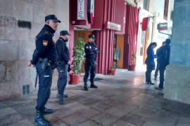 Operación policial contra cafeterías y restaurantes de alto standing de Palma