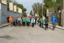 Trail solidario por Antoni Jiménez