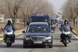 Los restos de los agentes asesinados en Kabul ya están en Madrid