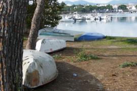Portocolom mejora su imagen con la retirada de las barcas abandonadas