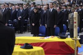 Funeral de estado por los dos policías asesinados en Kabul