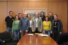 El Ajuntament de Calvià y los sindicatos firman el acuerdo de la carrera profesional