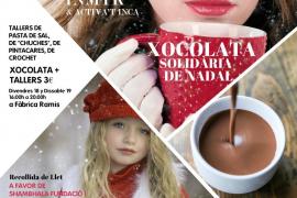 Talleres infantiles y chocolate solidario en Inca