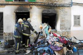 Arde una vivienda en Andratx