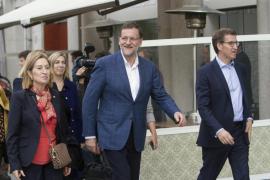 Un joven agrede a Rajoy en su paseo por Pontevedra