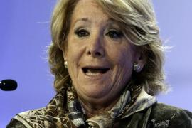 Esperanza Aguirre demandará a Sánchez por acusarla de corrupción